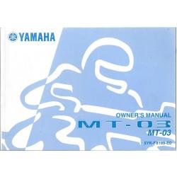 YAMAHA MT-03 de 2006