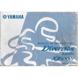 YAMAHA DIVERSION 600 type 4BR de 2002