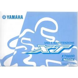 YAMAHA XT 660 R et X type 5VK de 2007