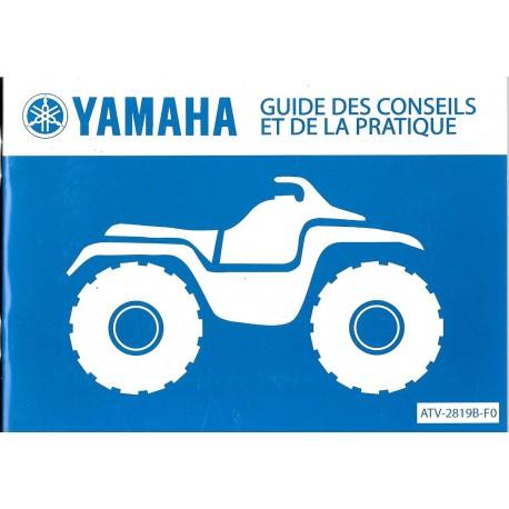 YAMAHA guide des conseils et de la pratique du quad