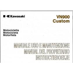 KAWASAKI VN 900 CB Custom de 2010-2011