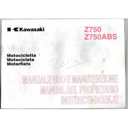 KAWASAKI Z 750 / Z 750 ABS de 2009