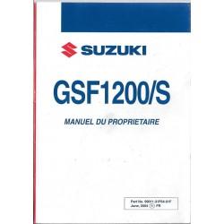 SUZUKI GSF 1200 / S K5 de 2004