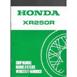 HONDA XR 250 R (additif juillet 992)