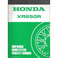 HONDA XR 250 R (additif septembre 1991)