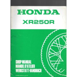 HONDA XR 250 R (additif septembre 1991)