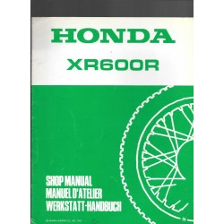 HONDA XR 600 RN (additif septembre 1991)