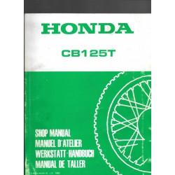 HONDA CB 125 TD (Manuel de base novembre 1982)