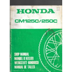 HONDA CM 125 C / 250 C (Additif mars 1982)