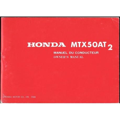 HONDA MTX 50 A T 2 de 1988