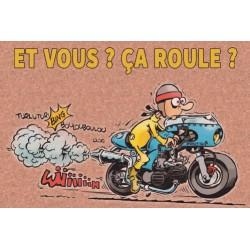 Carte Motocyclettes timbrées 4