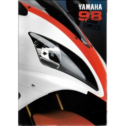 Catalogue original YAMAHA gamme motos 1998 en France