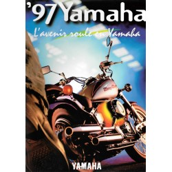 Catalogue original YAMAHA gamme motos 1997 en France