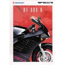 Prospectus original SUZUKI RF 900 R 1994