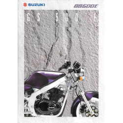 Prospectus original SUZUKI GS 500 E 1994
