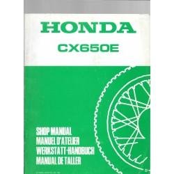 HONDA CX 650 E (Gros additif) décembre 1982