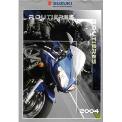 Catalogue original SUZUKI Routières 2004 (12 pages)