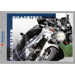 Catalogue original SUZUKI; Roadsters 2004 (8 pages)