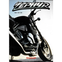 Catalogue original KAWASAKI ZEPHYR de 1994