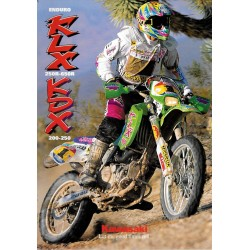 Catalogue original KAWASAKI Enduro KLX et KDX de 1995