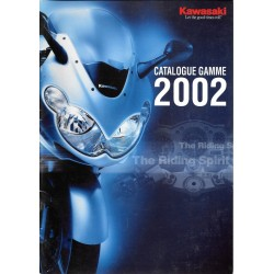 Catalogue original KAWASAKI gamme Motos 2002