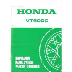HONDA VT 600 C (Additif de juillet 1995)