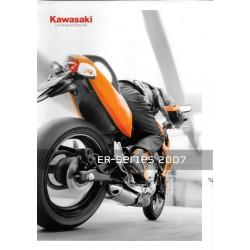 Catalogue original KAWASAKI ER-Séries 2007