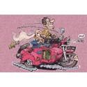 Carte Motocyclettes timbrées 5