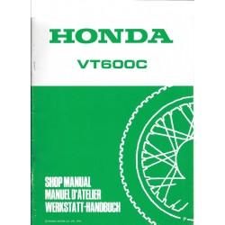 HONDA VT 600 C (Additif de janvier 1993)