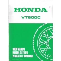 HONDA VT 600 C (Additif de novembre 1988)