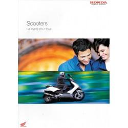 HONDA Gamme Scooters de 2004