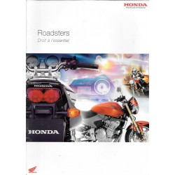 HONDA Gamme Roadsters de 2005