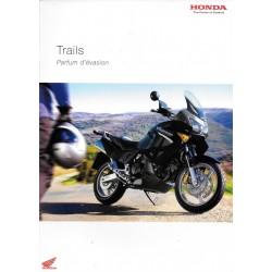 HONDA gamme Trails de 2004