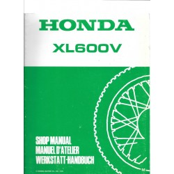 HONDA XL 600 V (Additif décembre 1990)