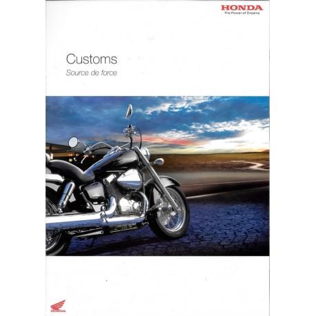 HONDA gamme Customs de 2004