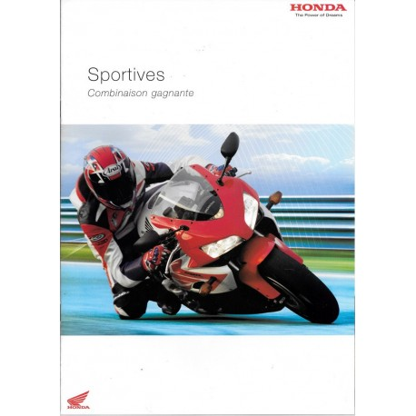 HONDA gamme Sportives de 2004
