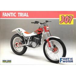 FANTIC TRIAL 307, 247, 125 modèles 1990