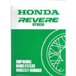 HONDA REVERE NTV 650 (Additif décembre 1996)