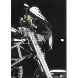 DUCATI prospectus accessoires Performance MONSTER