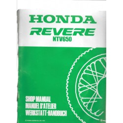 HONDA REVERE NTV 650 (Additif octobre 1994)