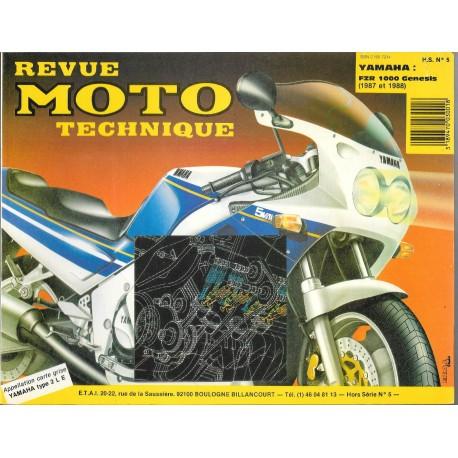 Revue Moto Technique HS n° 5 YAMAHA FZR 1000 GENESIS
