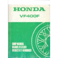 HONDA VF 400 F (Manuel atelier de base juin 1983)