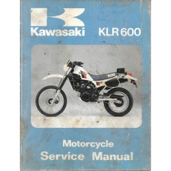 Manuel atelier KAWASAKI 600 KLR 1984
