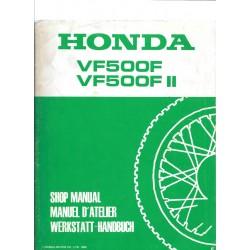 HONDA VF 500 / VF 500 F II (Manuel de base juin 1985)