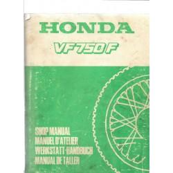 HONDA VF 750 F (Manuel de base avril 1983)
