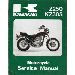 Manuel atelier KAWASAKI Z 250 / KZ 305