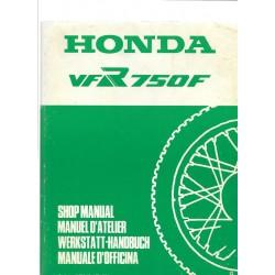 HONDA VFR 750 F (Manuel atelier de base)