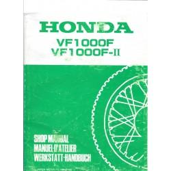 HONDA VF 1000 F / VF 1000 F II (Manuel de base juillet 1985)