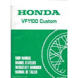 HONDA VF 1100 CUSTOM (Manuel de base avril 1983)