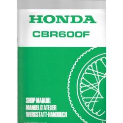 HONDA CBR 600 F (Additif novembre 1988